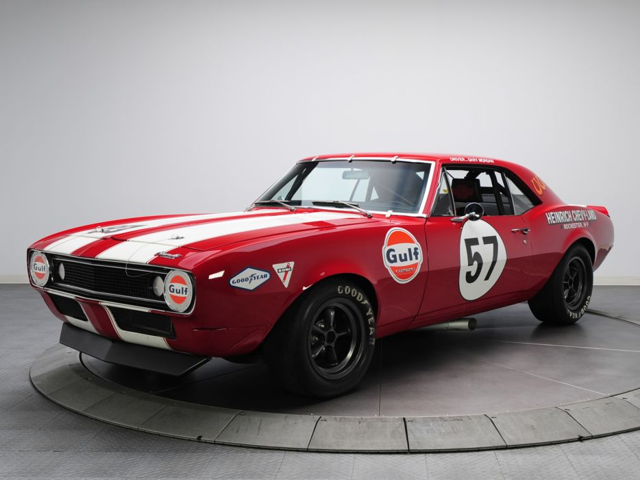 1967 Chevrolet Camaro Z-28 Pre-production Trans-Am Race Car racing muscle classic hot rod rods wallpaper