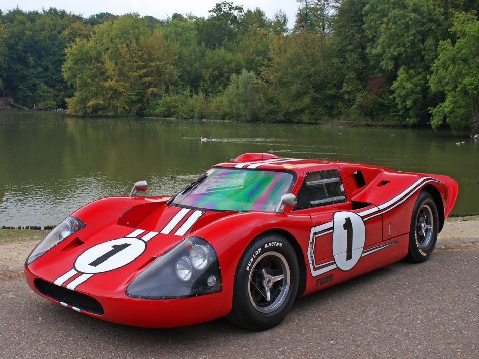 1967 Ford GT40 MkIV race racing supercar  fs wallpaper