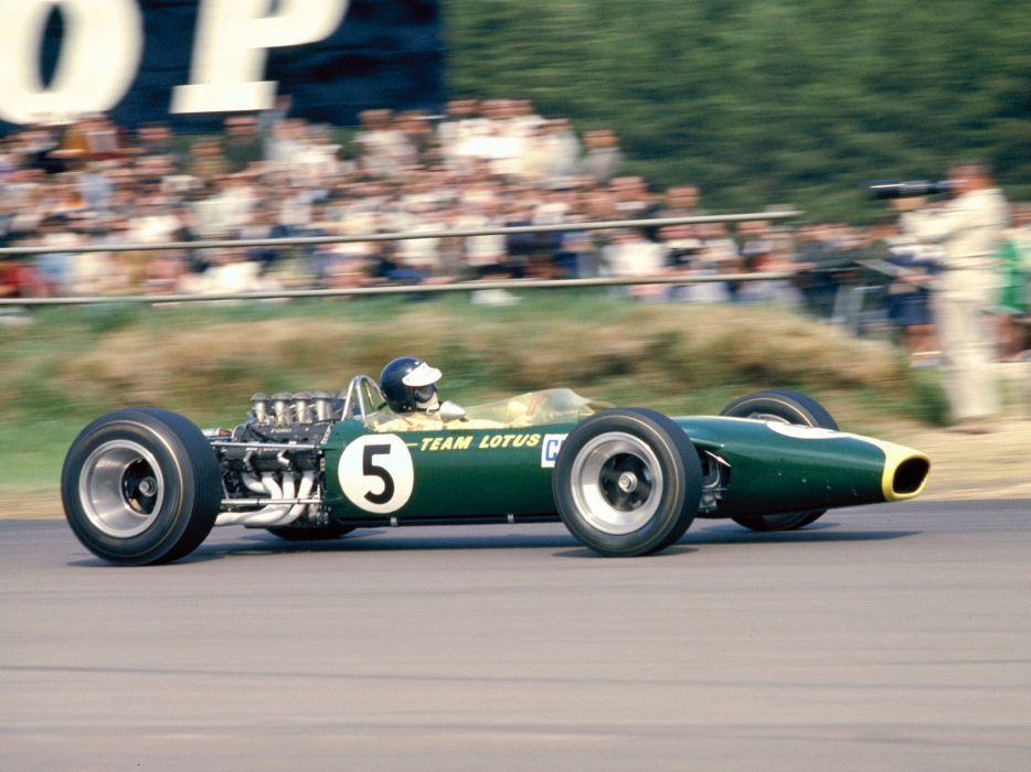 1967 Lotus 49 formula one f-1 race racing engine      ge wallpaper