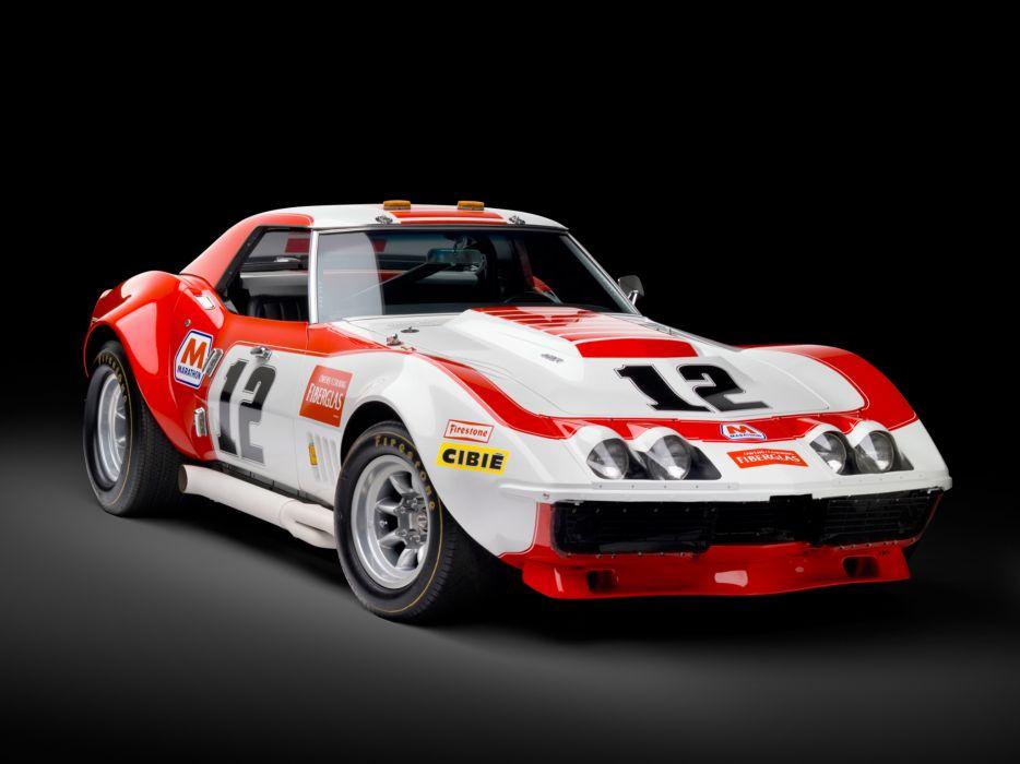 1968 Chevrolet Corvette L88 Convertible Race Car DA-3 race racing muscle classic supercar    h wallpaper