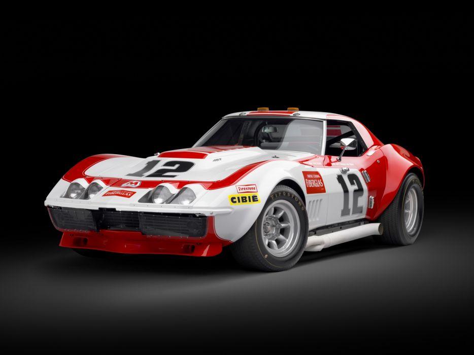 1968 Chevrolet Corvette L88 Convertible Race Car DA-3 race racing muscle classic supercar wallpaper