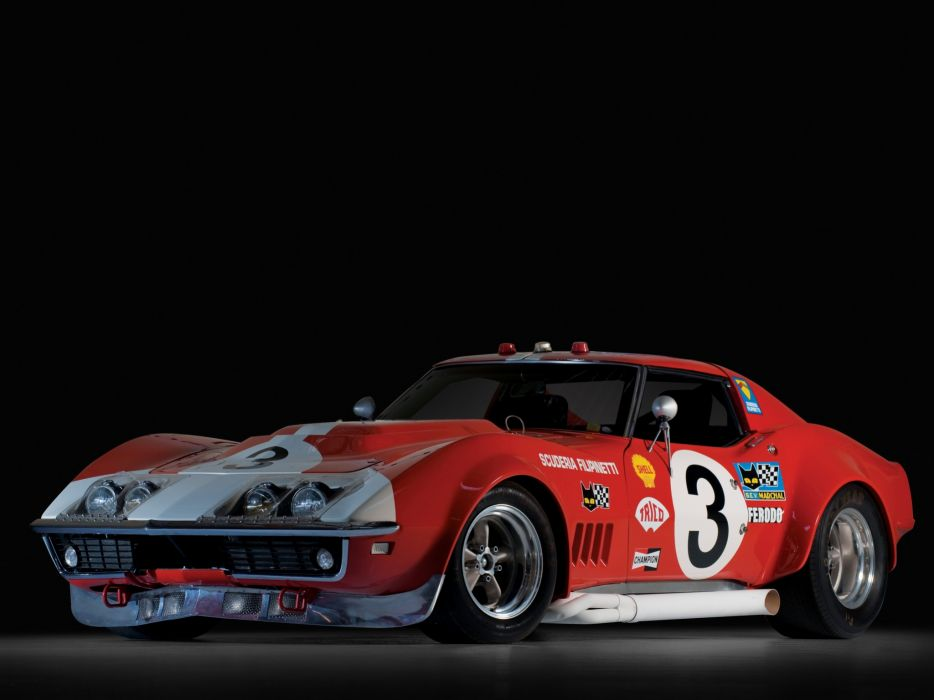 1968 Chevrolet Corvette L88 Race Car C-3 racing supercar muscle classic   f wallpaper