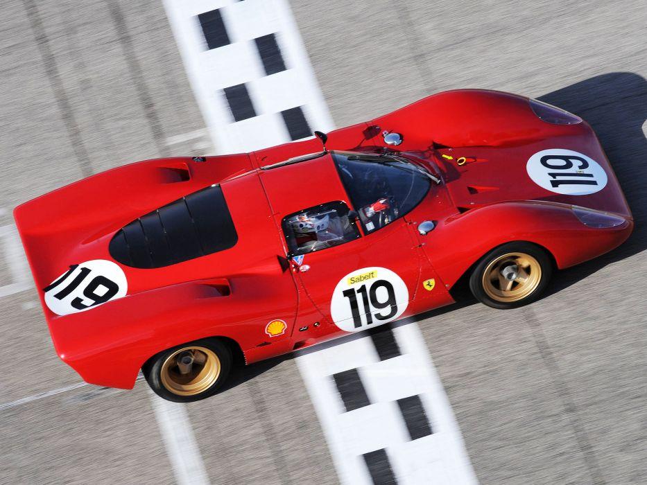 1969 Ferrari 312P Berlinetta race racing      g wallpaper