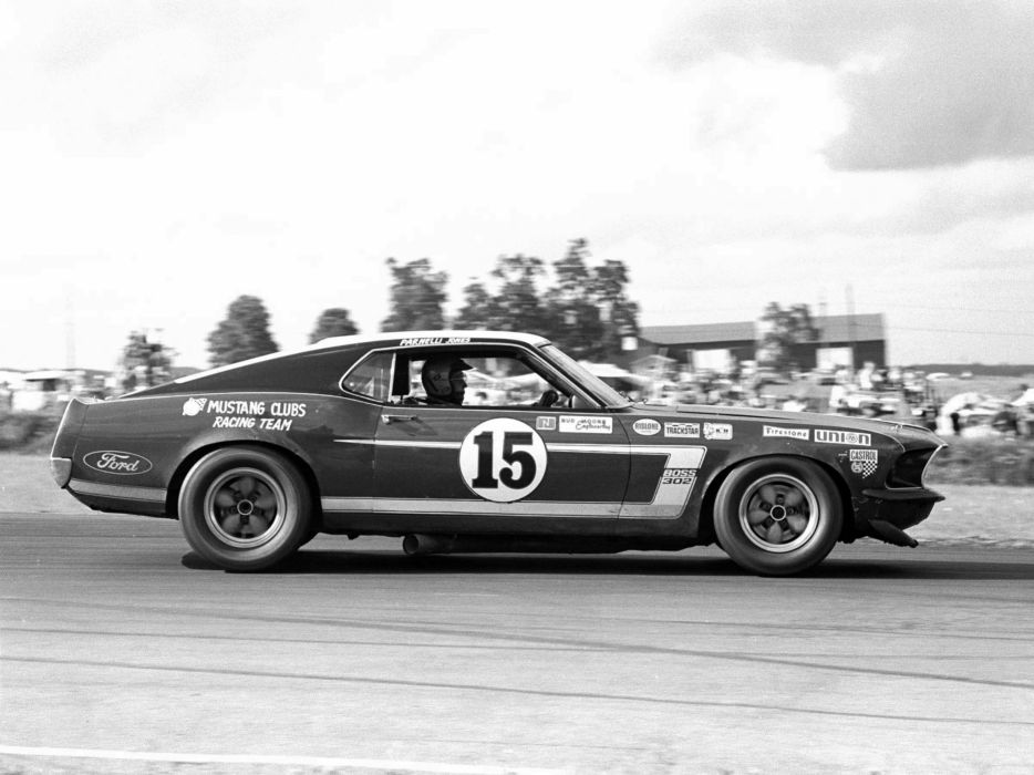 1969 Ford Mustang Boss 302 Trans-Am muscle classic race racing      g wallpaper