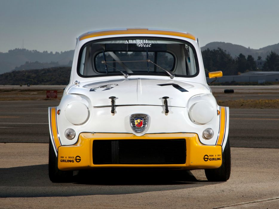 1970 Abarth Fiat 1000 TCR Group-2 race racing     g wallpaper