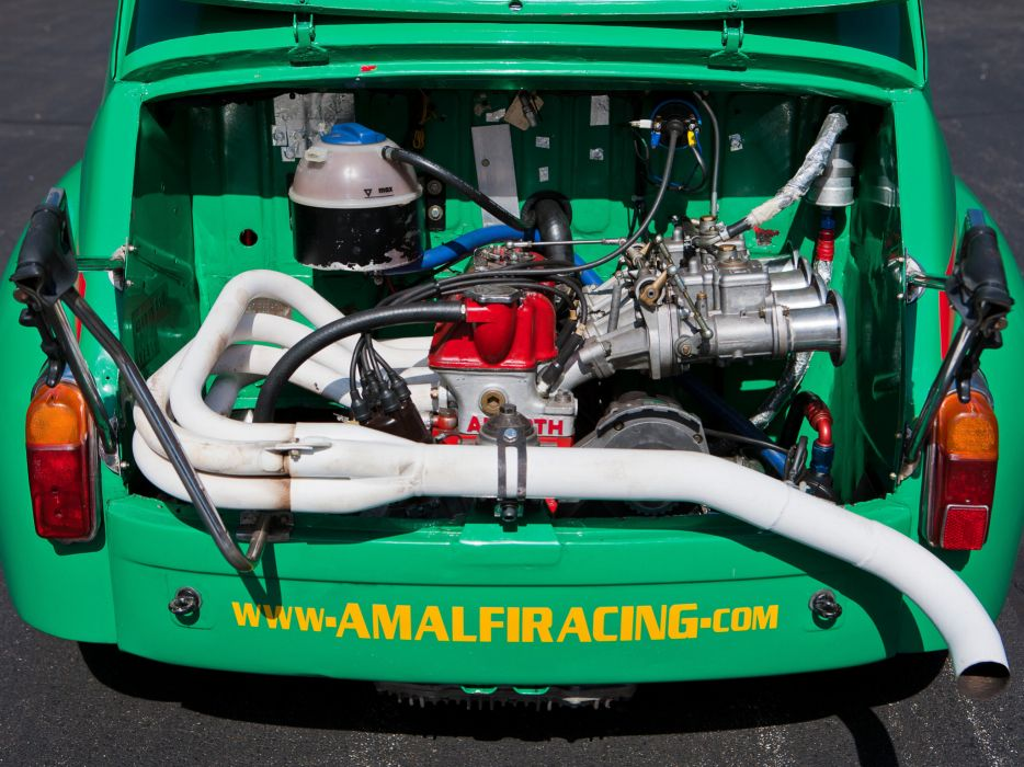 1970 Abarth Fiat 1000 TCR Group-2 race racing engine    r wallpaper