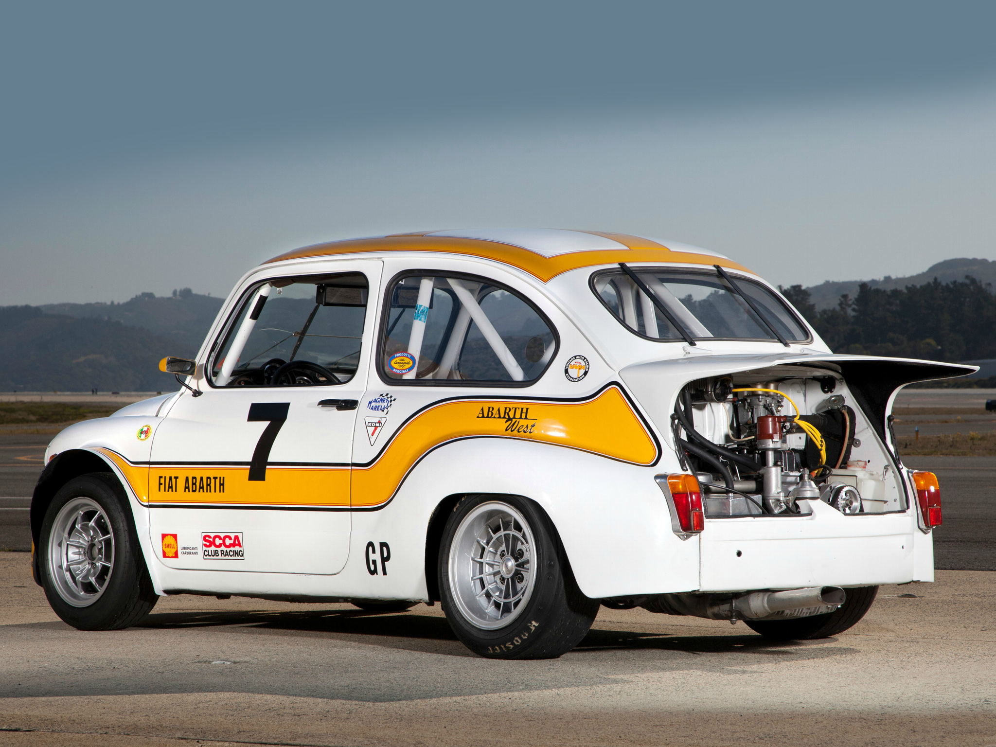 1970 Abarth Fiat 1000 Tcr Group 2 Race Racing Engine G