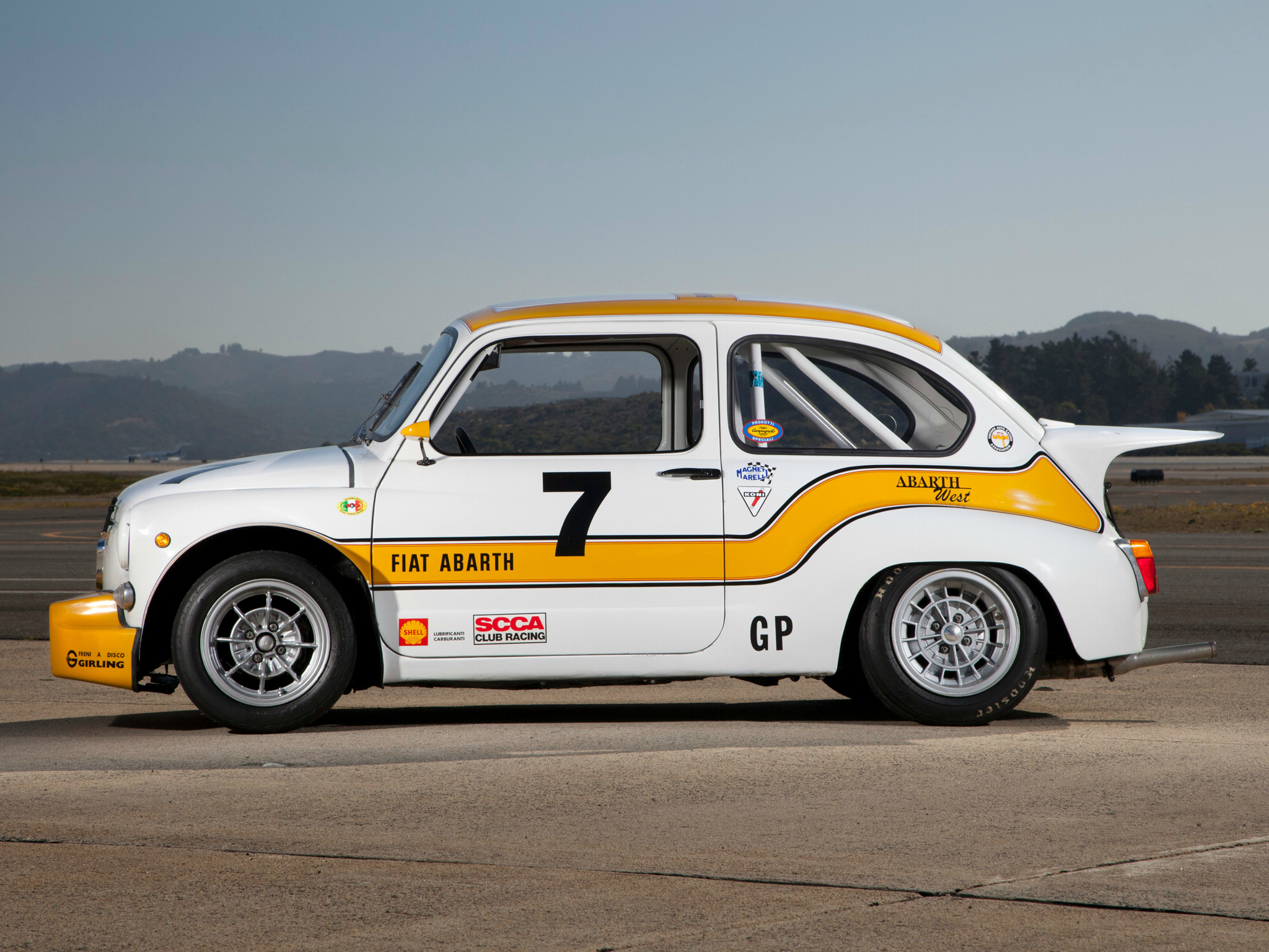 1970 abarth fiat 1000 tcr group 2 race racing wallpaper. Black Bedroom Furniture Sets. Home Design Ideas