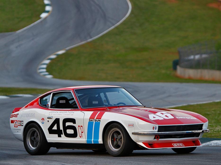 1970 BRE Datsun 240Z SCCA C-Production National Championship S30 race racing   f wallpaper