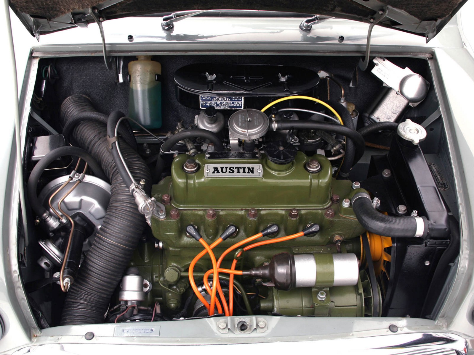 1964 Austin Mini Cooper S Rally Ado15 Race Racing Classic