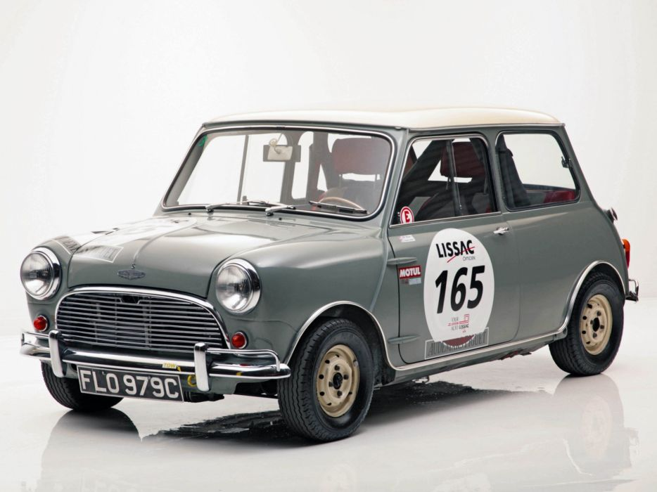 1964 Austin Mini Cooper S Rally ADO15 race racing classic cooper-s   g wallpaper