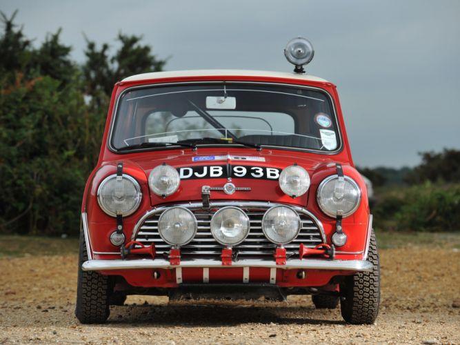 1964 Morris Mini Cooper S Rally ADO15 race racing classic cooper-s f wallpaper