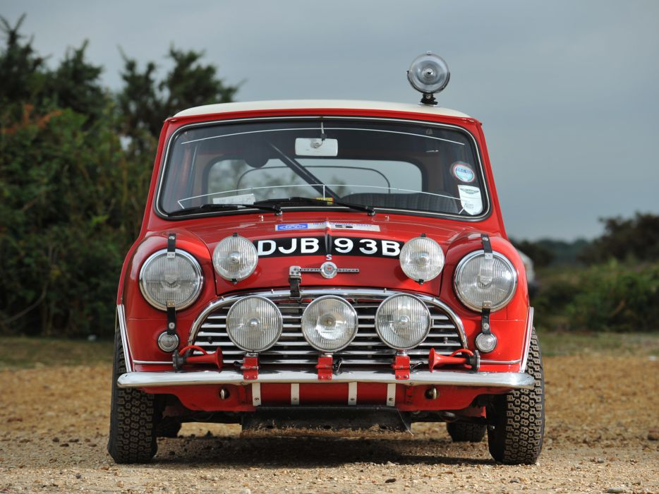 1964 Morris Mini Cooper S Rally ADO15 race racing classic cooper-s   f wallpaper