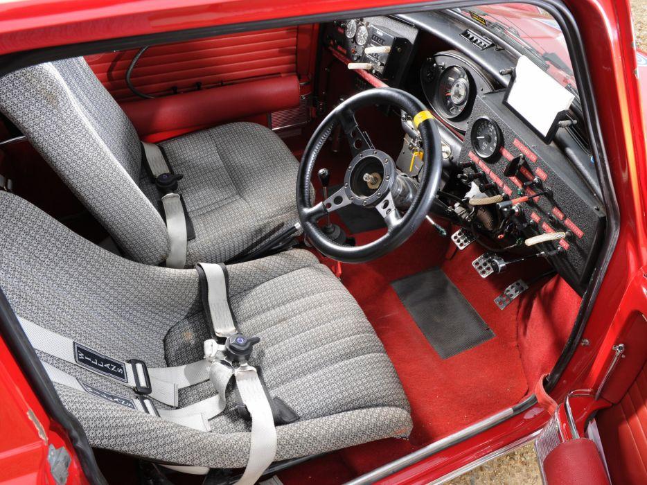 1964 Morris Mini Cooper S Rally Ado15 Race Racing Classic Cooper S Interior G Wallpaper