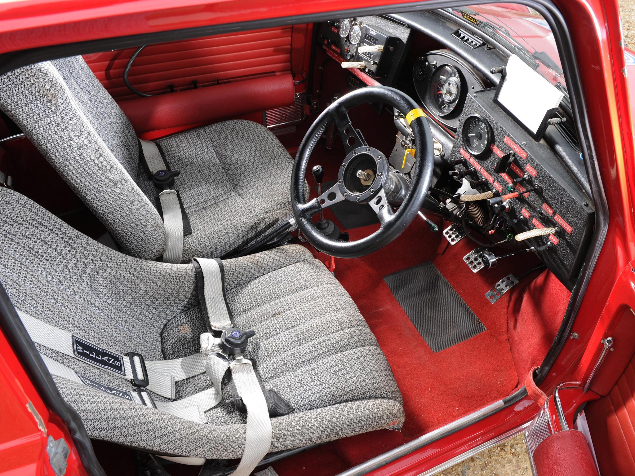 1964 Morris Mini Cooper S Rally ADO15 race racing classic ...