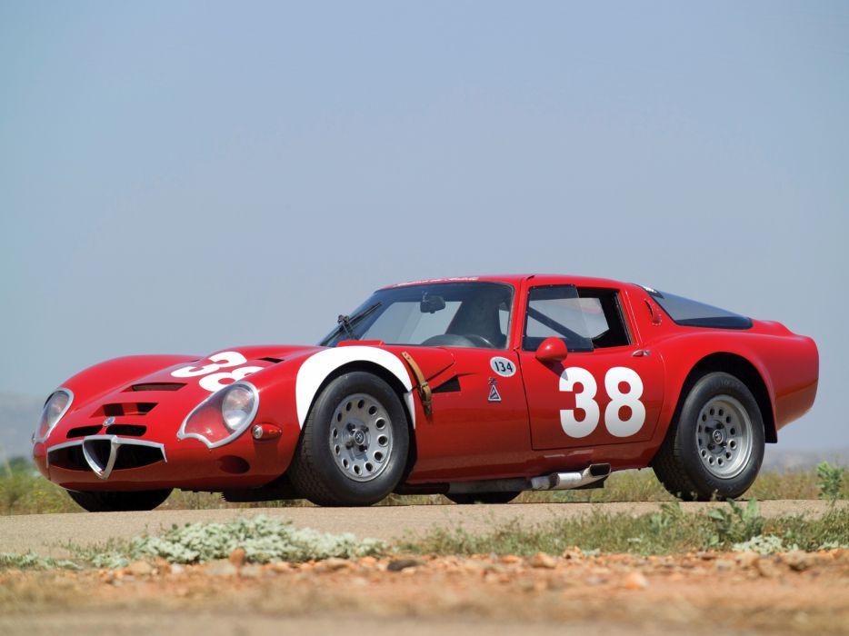1965 Alfa Romeo Giulia TZ2 105 race racing supercar classic   eb wallpaper
