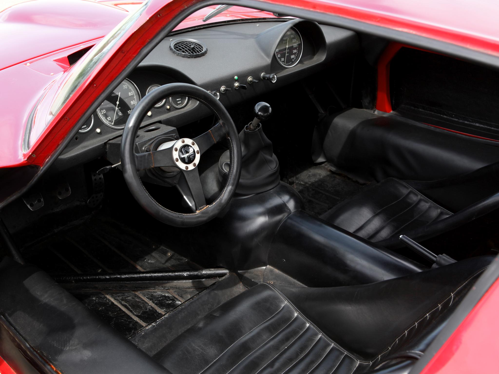 1965 Alfa Romeo Giulia Tz2 105 Race Racing Supercar Classic Interior G Wallpaper 2048x1536