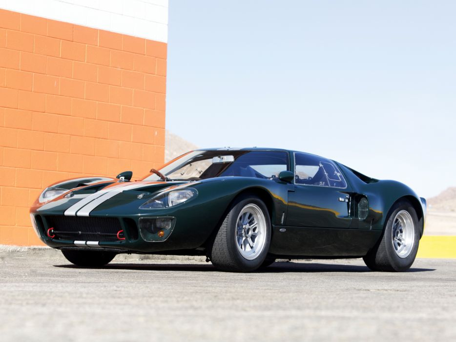 Ford Gt Mkii Supercar Race Racing Classic G T G Wallpaper