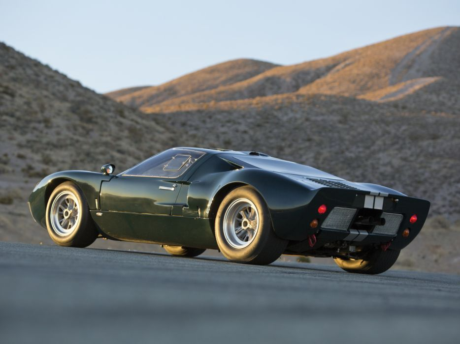 Ford Gt Mkii Supercar Race Racing Classic G T D Wallpaper