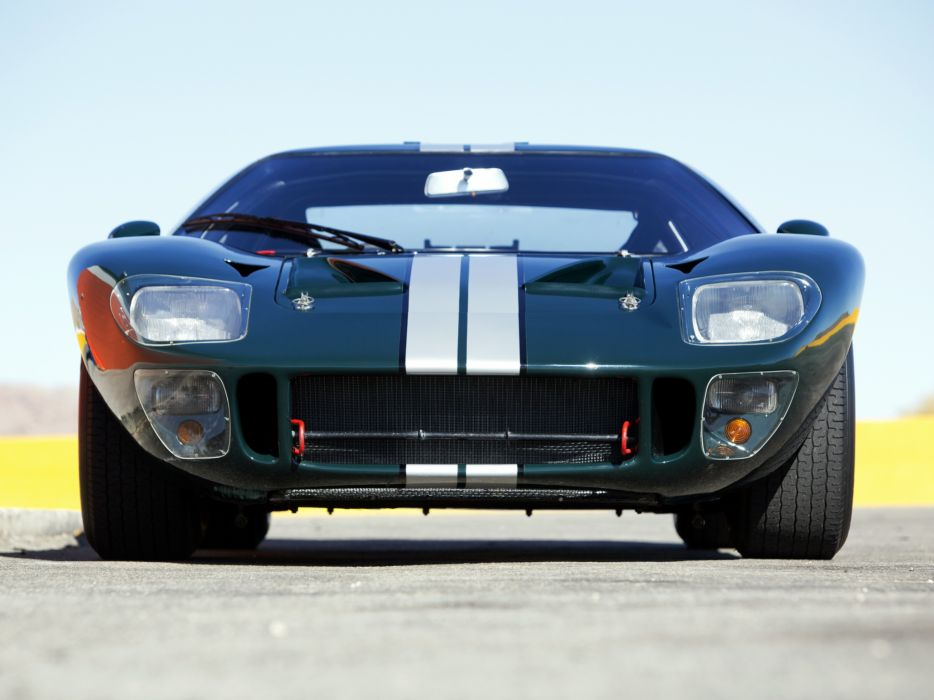 1965 Ford GT40 MkII supercar race racing classic g-t   fs wallpaper