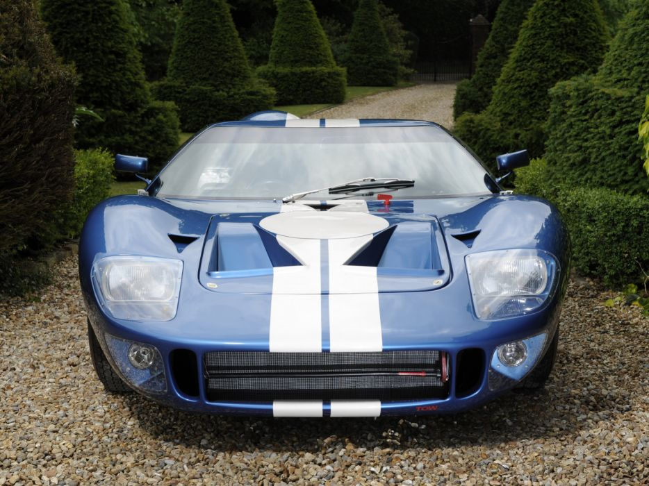 1965 Ford GT40 MkII supercar race racing classic g-t  f wallpaper