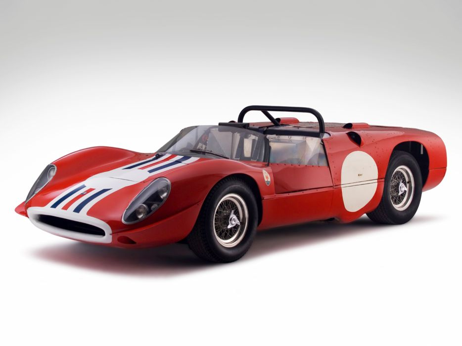 1965 Maserati Tipo 65 Birdcage race racing supercar classic tipo-65 wallpaper