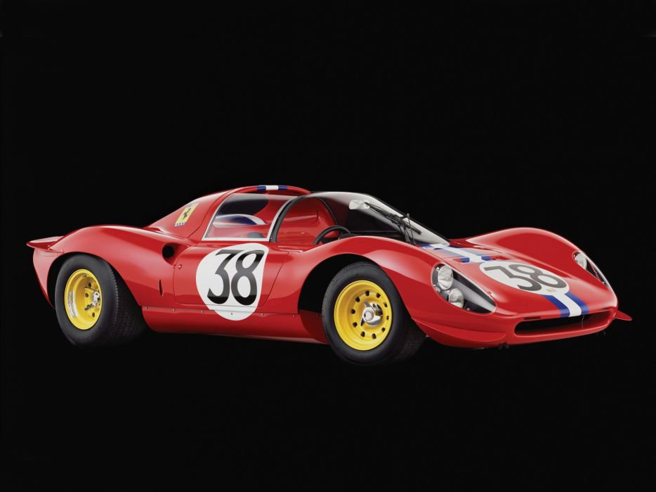 1966 Ferrari 206 S Dino Spyder By Carrozzeria supercar race racing classic  g wallpaper