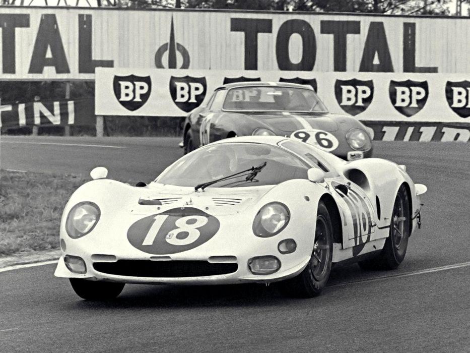 1966 Ferrari 365 P2 Coupe race racing classic p-2 wallpaper
