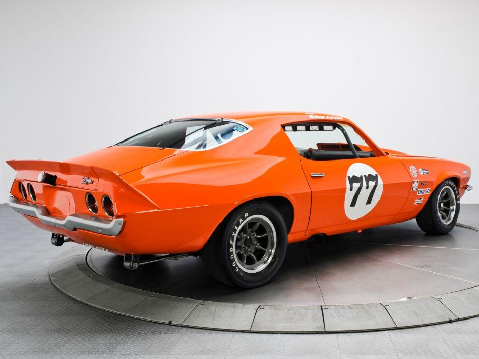 1970 Chevrolet Camaro Z28 Trans-Am race racing muscle classic  f wallpaper