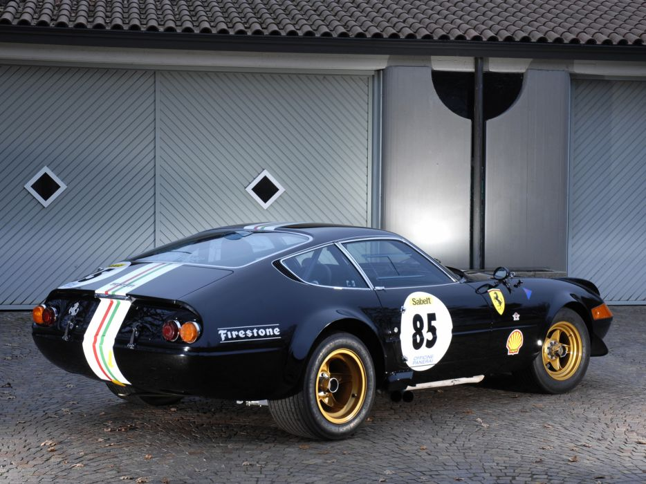 1970 Ferrari 365 GTB-4 Daytona Competizione supercar race racing   s wallpaper