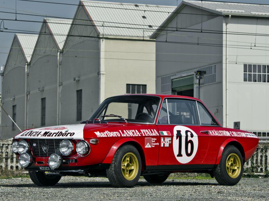 1970 Lancia Fulvia Coupe 1600 H-F Corsa 818 race racing wallpaper