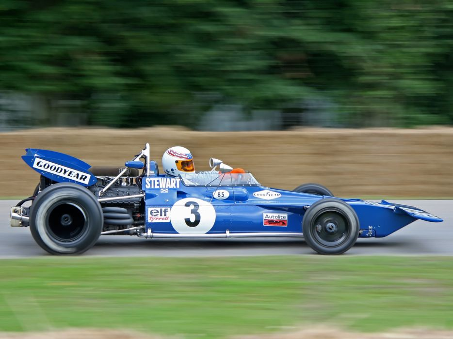 1970 Tyrrell 001 Formula One race racing f-1          h wallpaper