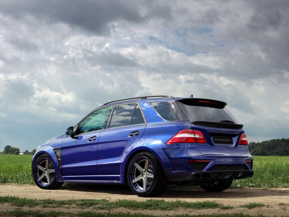 2012 TopCar Mercedes Benz M-Klasse Inferno W166 tuning suv    hd wallpaper