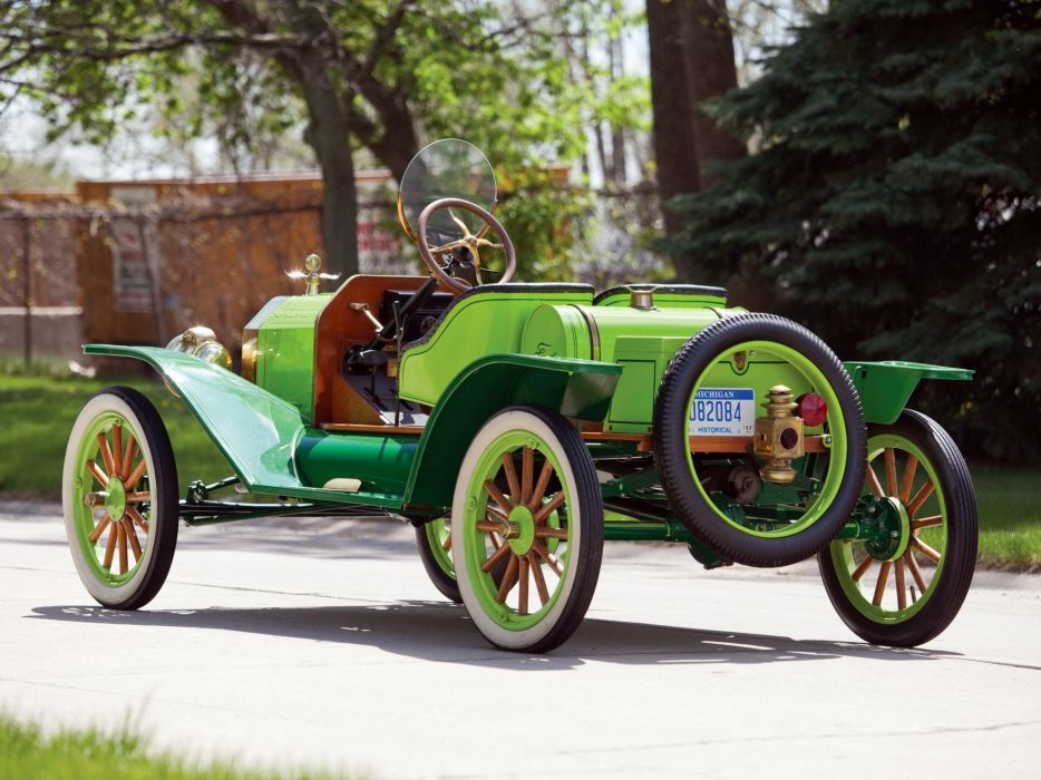 1912 Ford Model-T Speedster retro wallpaper