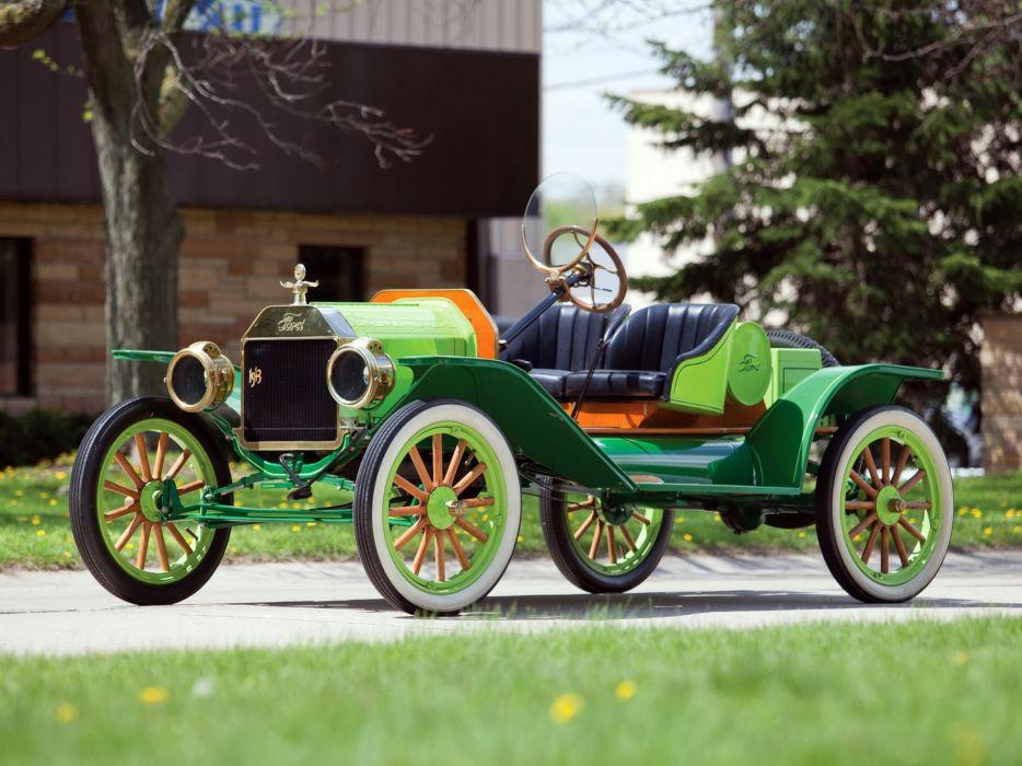 1912 Ford Model-T Speedster retro   d wallpaper
