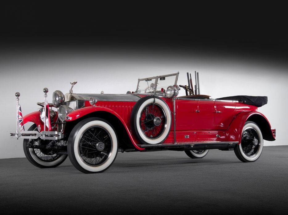 1925 Rolls Royce Phantom >> 1925 Rolls Royce Phantom I Tourer Luxury Retro G Wallpaper