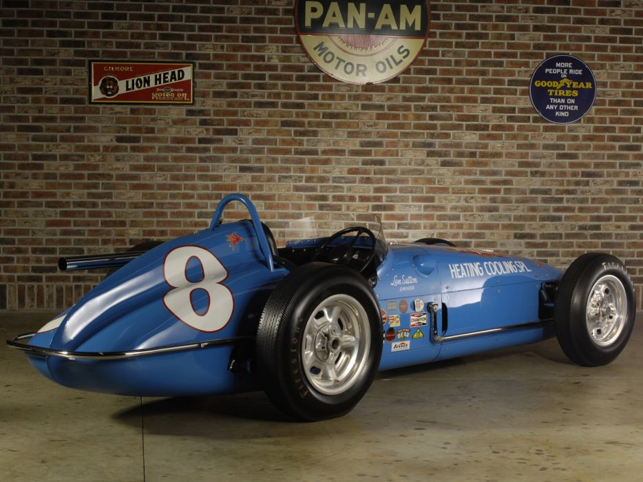 1960 Watson Offenhauser Indy 500 Roadster race racing classic    f wallpaper