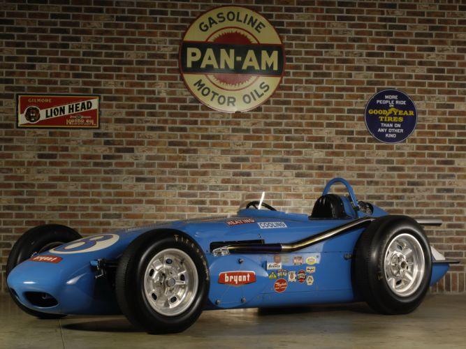 1960 Watson Offenhauser Indy 500 Roadster race racing classic wallpaper