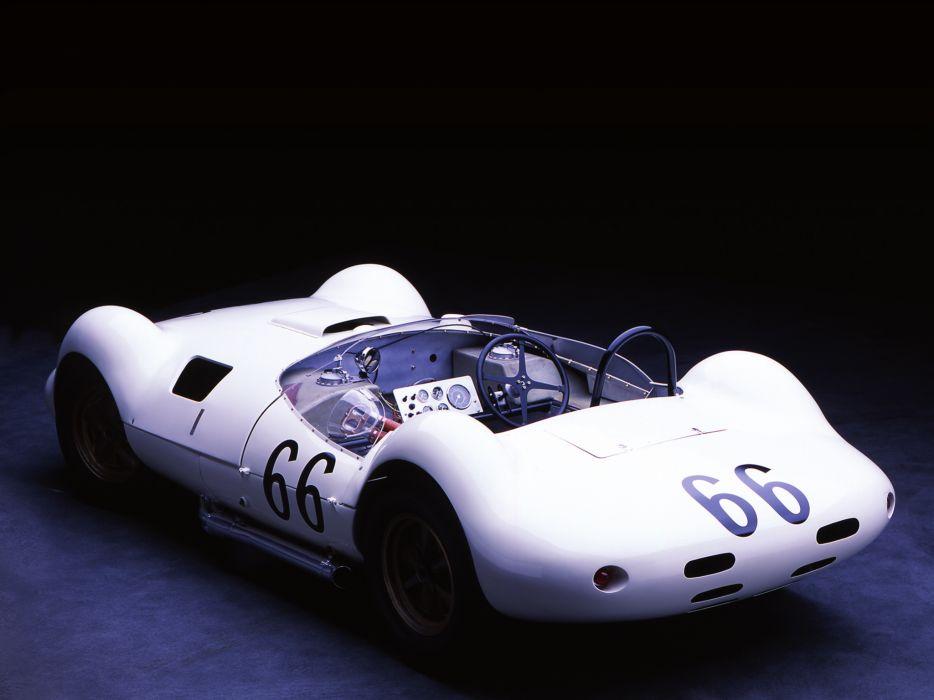 1961 Chaparral 1 supercar race racing classic interior      h wallpaper