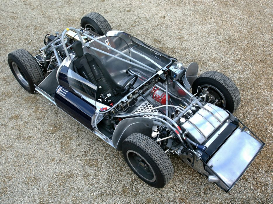 1961 Cooper Climax Type-61 Monaco race racing classic interior engine       h wallpaper