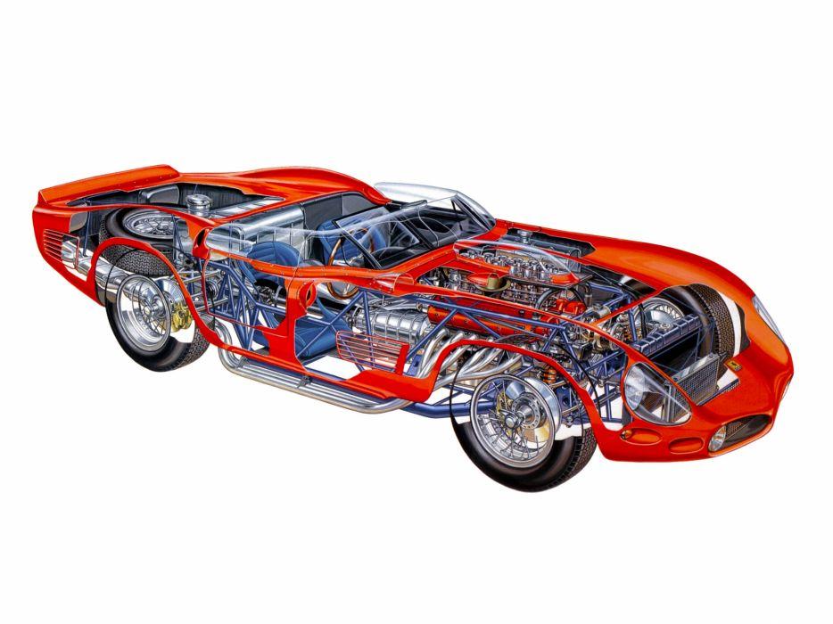 1961 Ferrari 250 TRI61 race racing supercar classic interior engine       h wallpaper