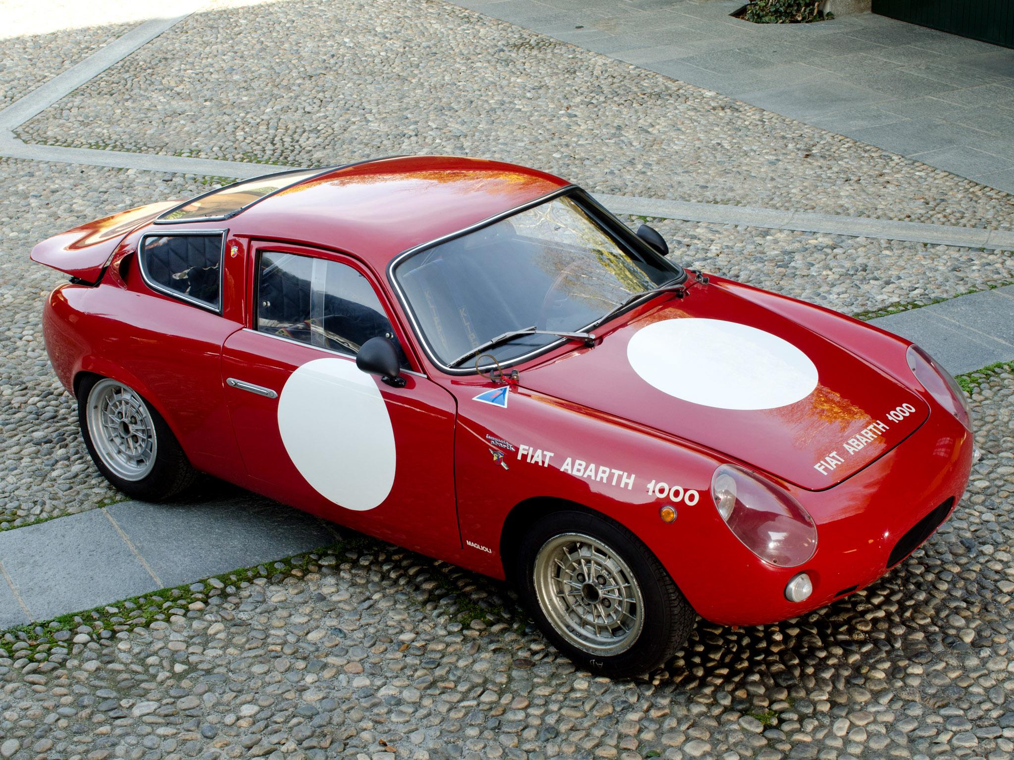 1961 Fiat Abarth 1000 Gt Bialbero Race Racing Rally