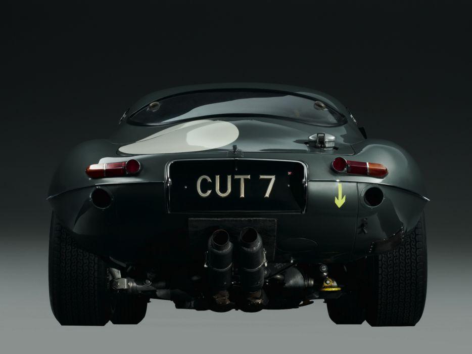 1962 Jaguar E-Type Low Drag Coupe Series-I Lightweight supercar race rascing classic wallpaper
