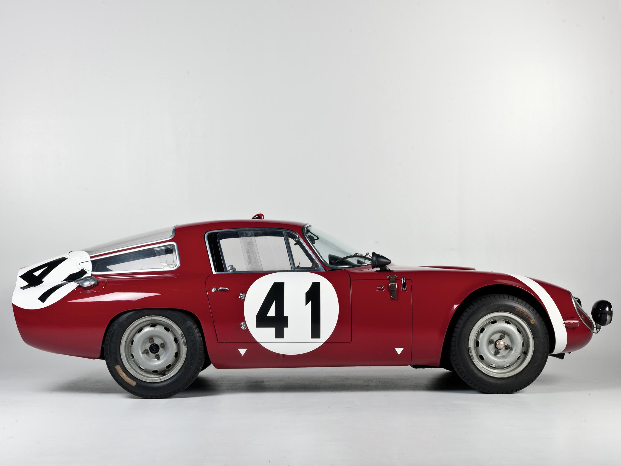 1963 Alfa Romeo Giulia Tz 105 Rally Car Race Racing Classic Wallpaper 2048x1536 147987 Wallpaperup