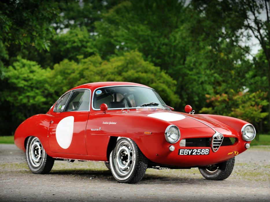 1964 Alfa Romeo Giulia 1600 Sprint Speciale Corsa 101 race racing classic wallpaper