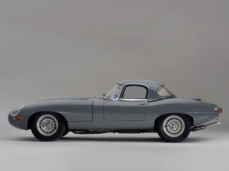 1964 Jaguar E-Type Lightweight Roadster Series-I supercar race racing classic  a wallpaper
