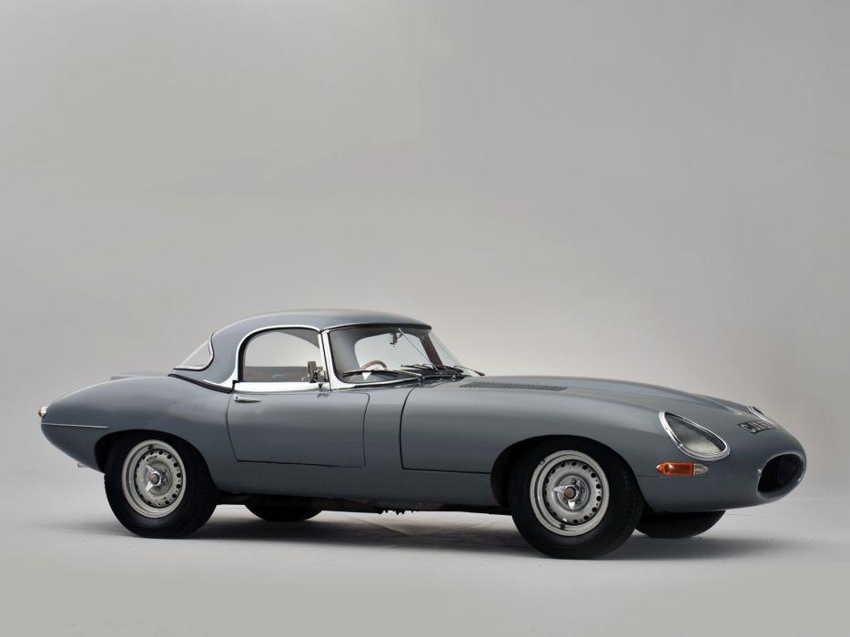 1964 Jaguar E-Type Lightweight Roadster Series-I supercar race racing classic  ds wallpaper