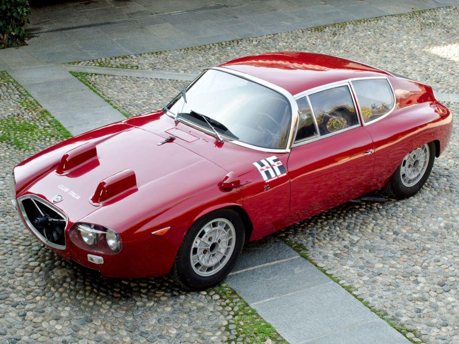 1964 Lancia Flavia Sport Corsa 815 race racing supercar classic   f wallpaper