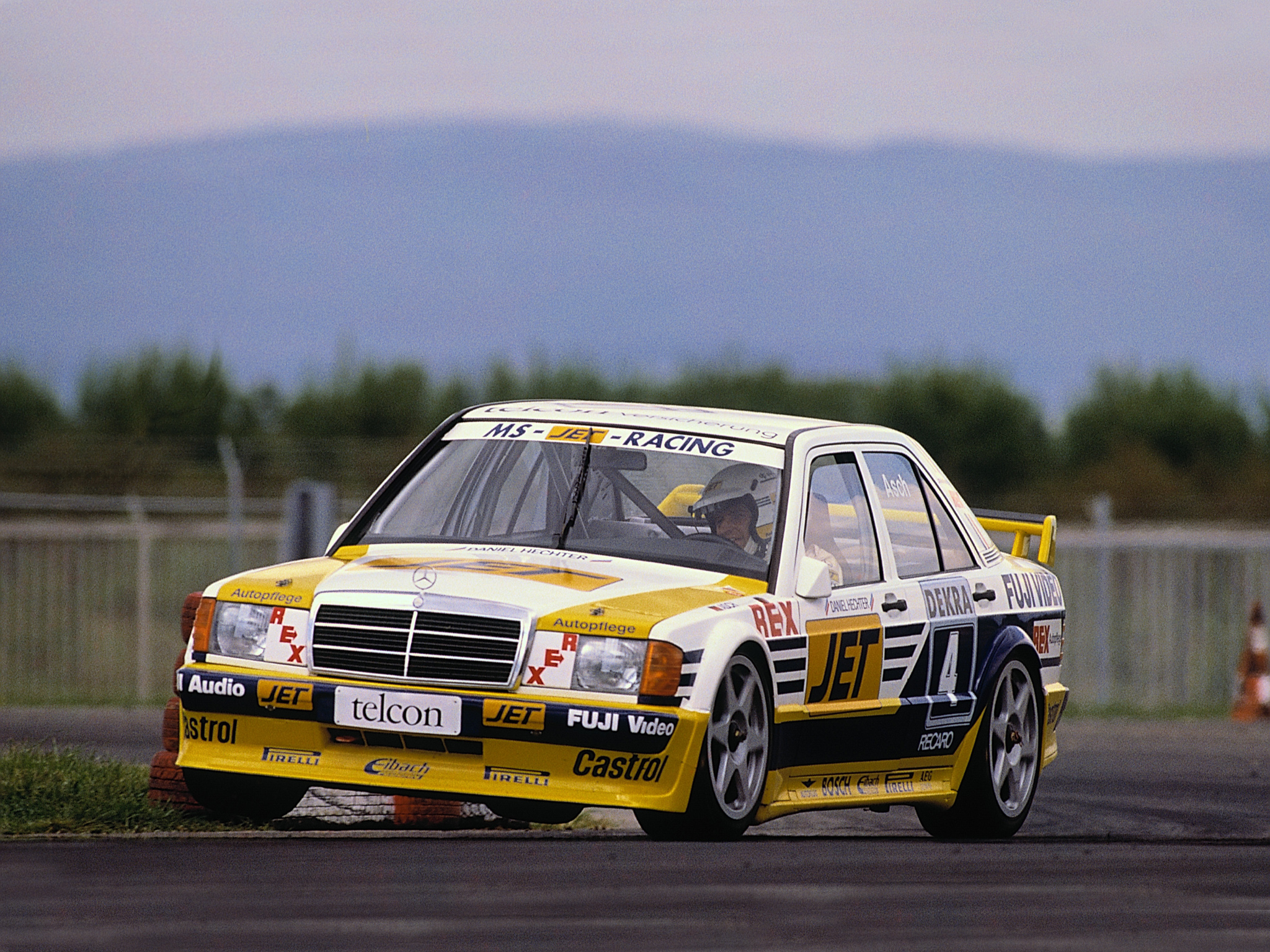 1989 mercedes benz 190 e 2 5 16 evolution dtm w201 race for Mercedes benz race