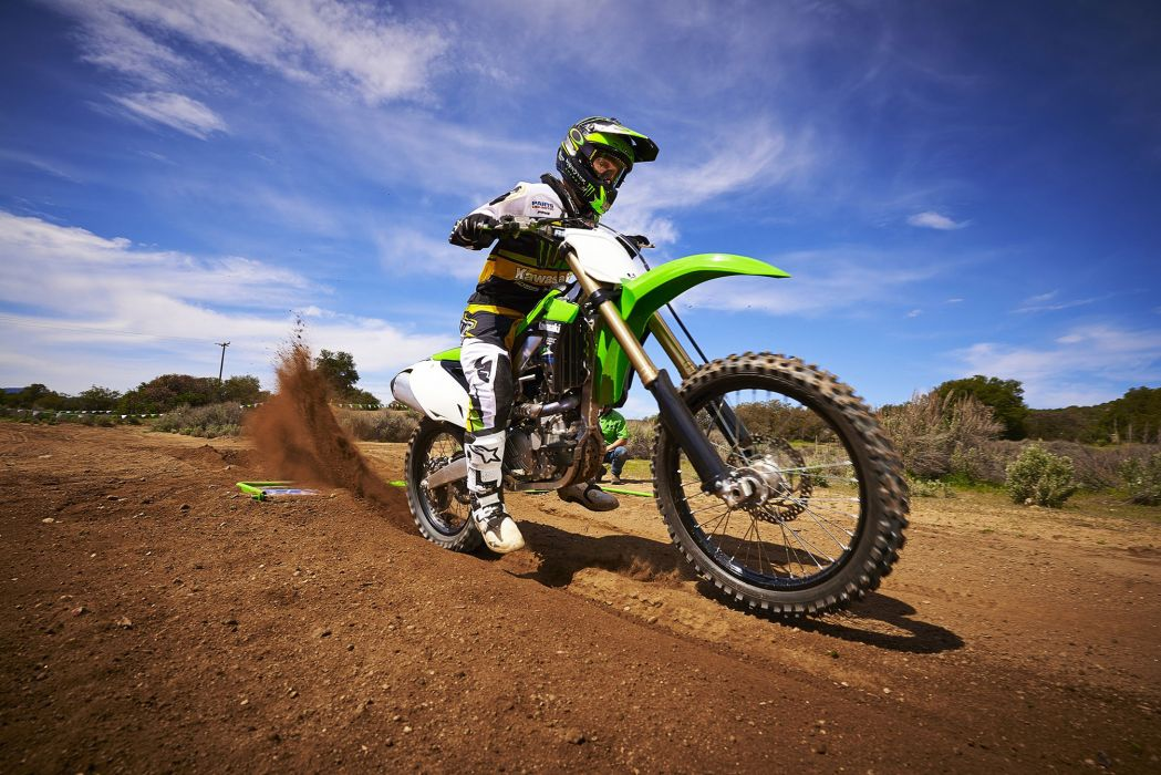 2014 Kawasaki KX450F motocross moto dirtbike    g wallpaper